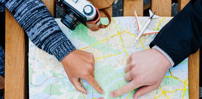 Choose your next vacation destination