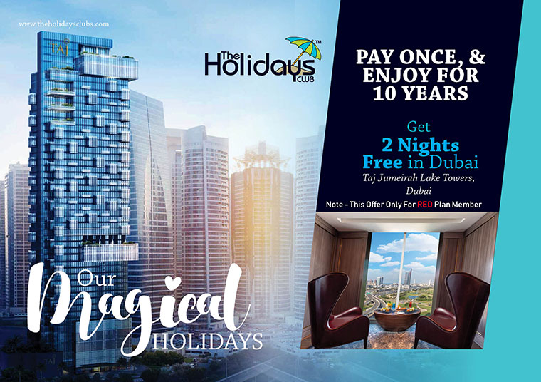 Get Free Nights in Dubai from Holidays Clubs
