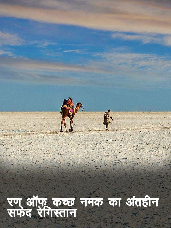 रण ऑफ कच्छ – नमक का अंतहीन सफेद रेगिस्तान