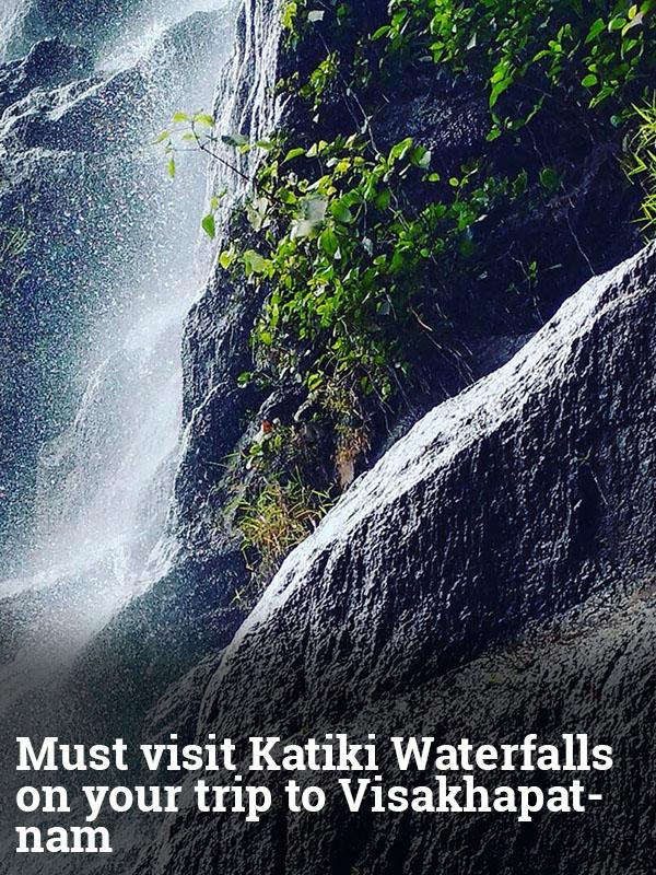 Must visit Katiki Waterfalls on your trip to Visakhapatnam