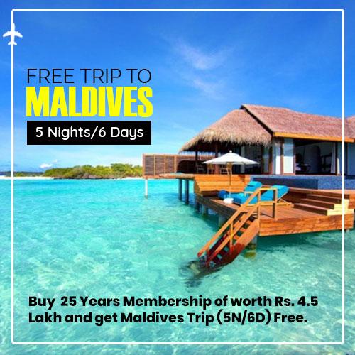 Free Trip to Maldives